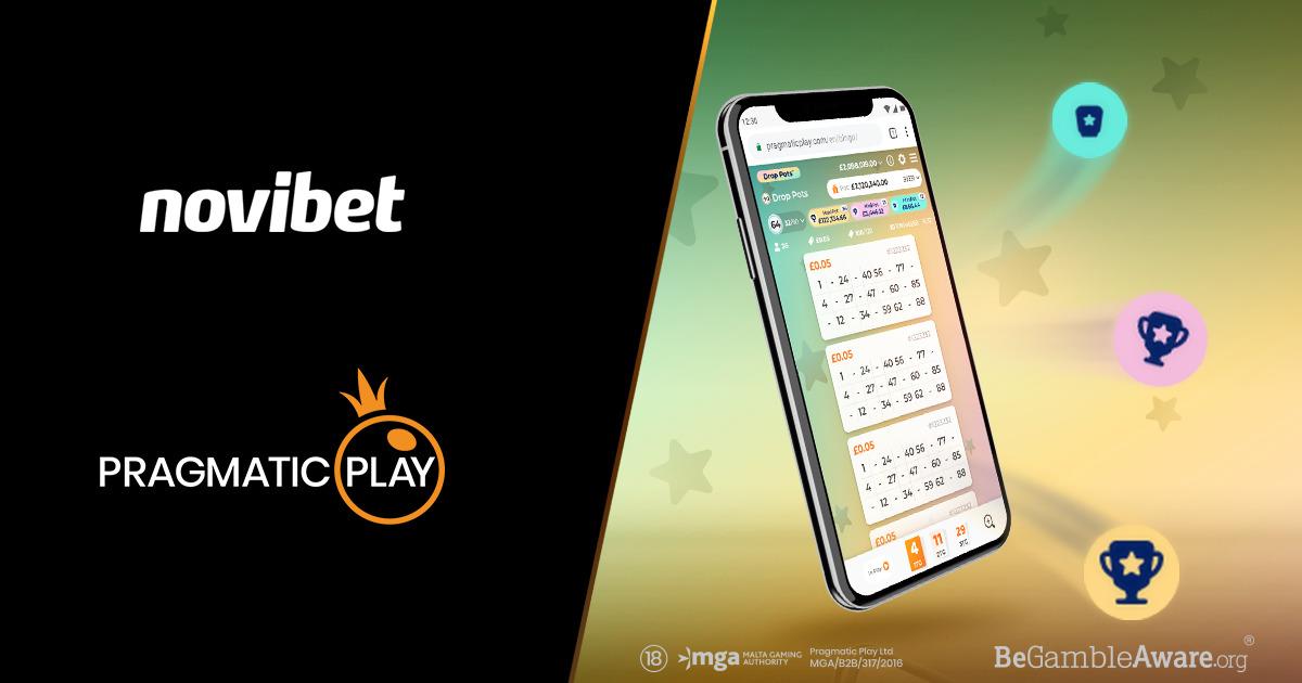 Pragmatic Play Participe au Bingo En Direct Avec Novibet