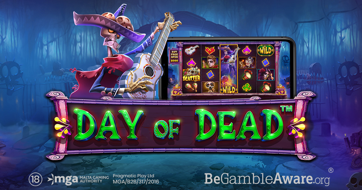 PRAGMATIC PLAY KICKS OFF THE CELEBRATIONS WITH DAY OF DEAD