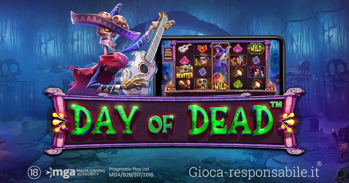 PRAGMATIC PLAY DÀ IL VIA AI FESTEGGIAMENTI CON LA SLOT DAY OF DEAD