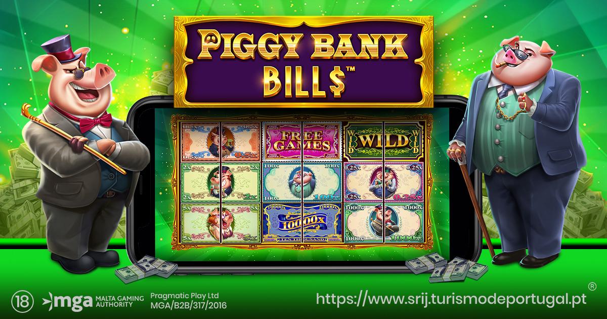PRAGMATIC PLAY ABRE O COFRE EM PIGGY BANK BILLS
