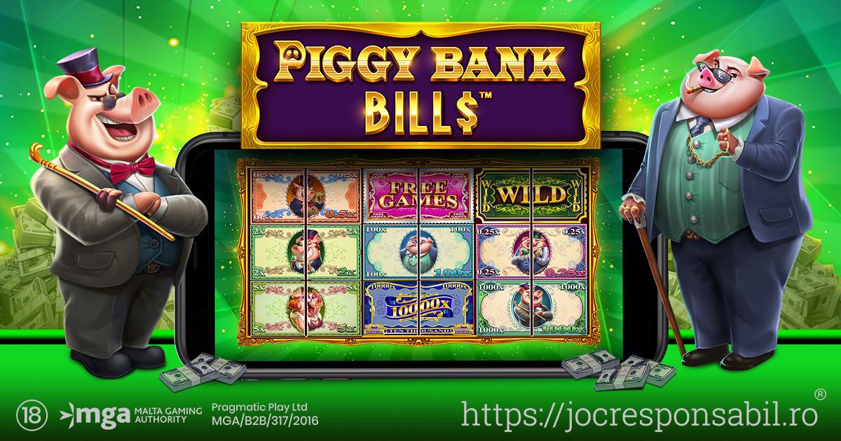 PRAGMATIC PLAY DESCHIDE SEIFUL ÎN PIGGY BANK BILLS