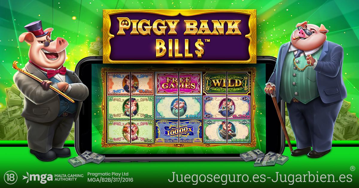 PRAGMATIC PLAYABRE LA CAJA FUERTE EN PIGGY BANK BILLS