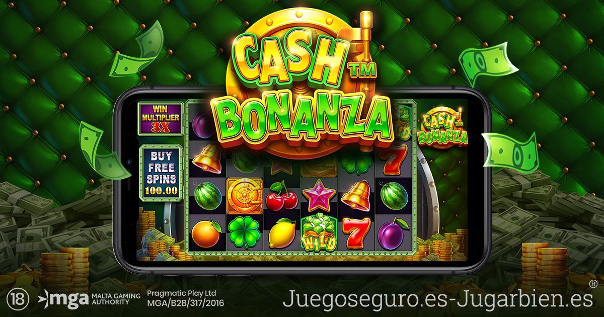 PRAGMATIC PLAY REVIVE UN TEMA CLÁSICO EN CASH BONANZA™