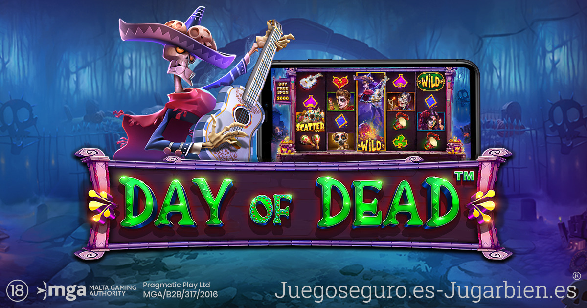 PRAGMATIC PLAY COMIENZA LOS FESTEJOS CON DAY OF DEAD