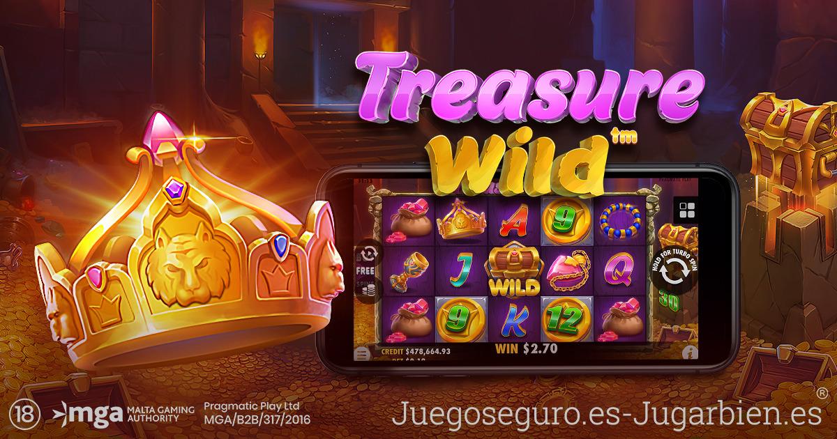 PRAGMATIC PLAY VACIARÁ LAS RESERVAS EN TREASURE WILD