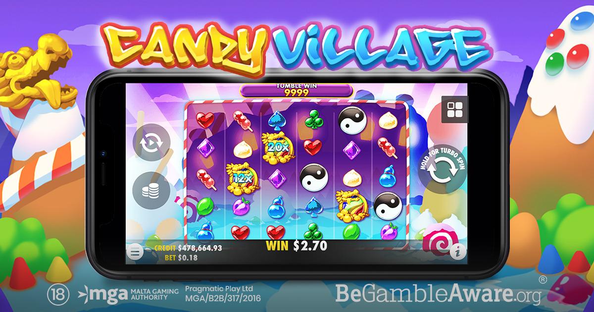 PRAGMATIC PLAY RA MẮT SLOT GAME MỚI CANDY VILLAGE™